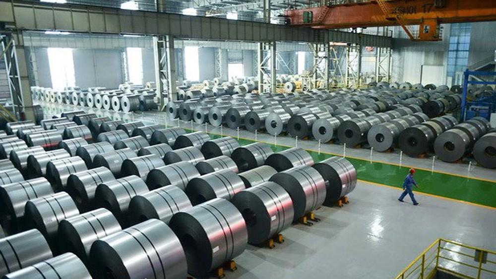 kho nhập khẩu thép từ Trung Quốc