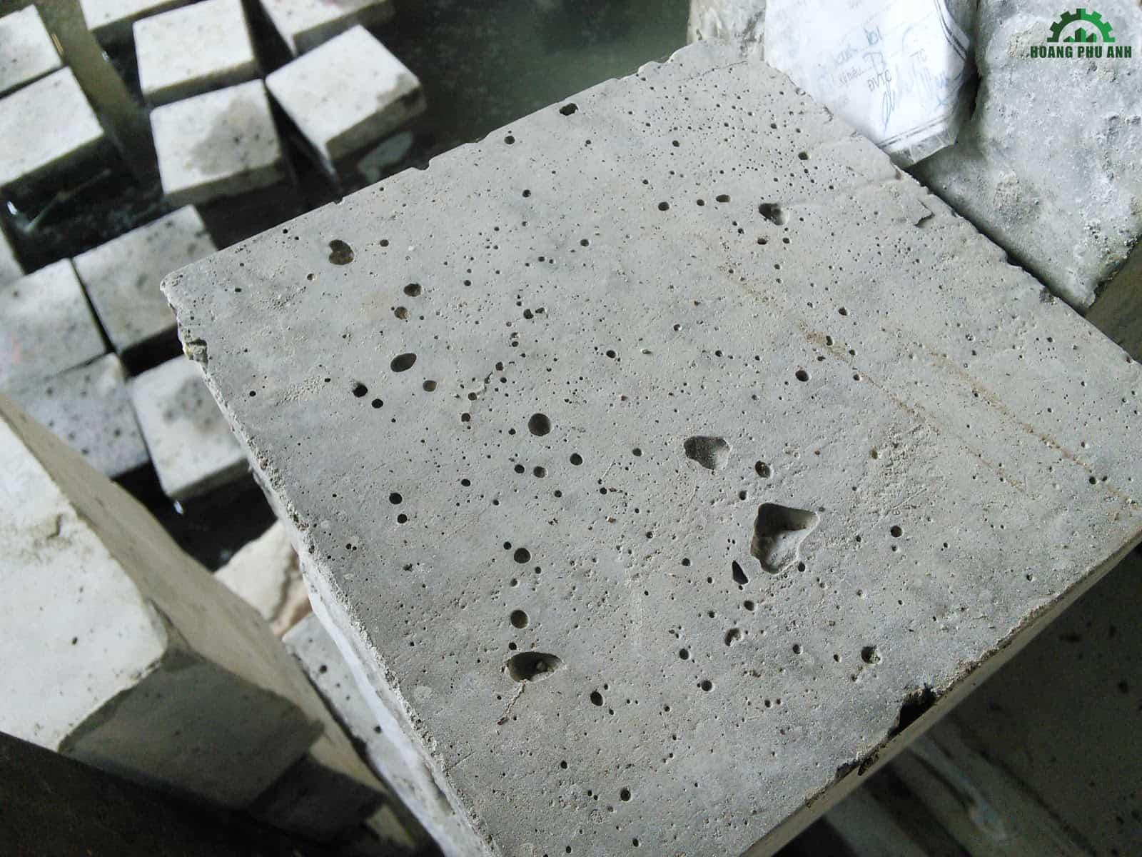 Mặt ngoài của bê tông không đạt chất lượng
