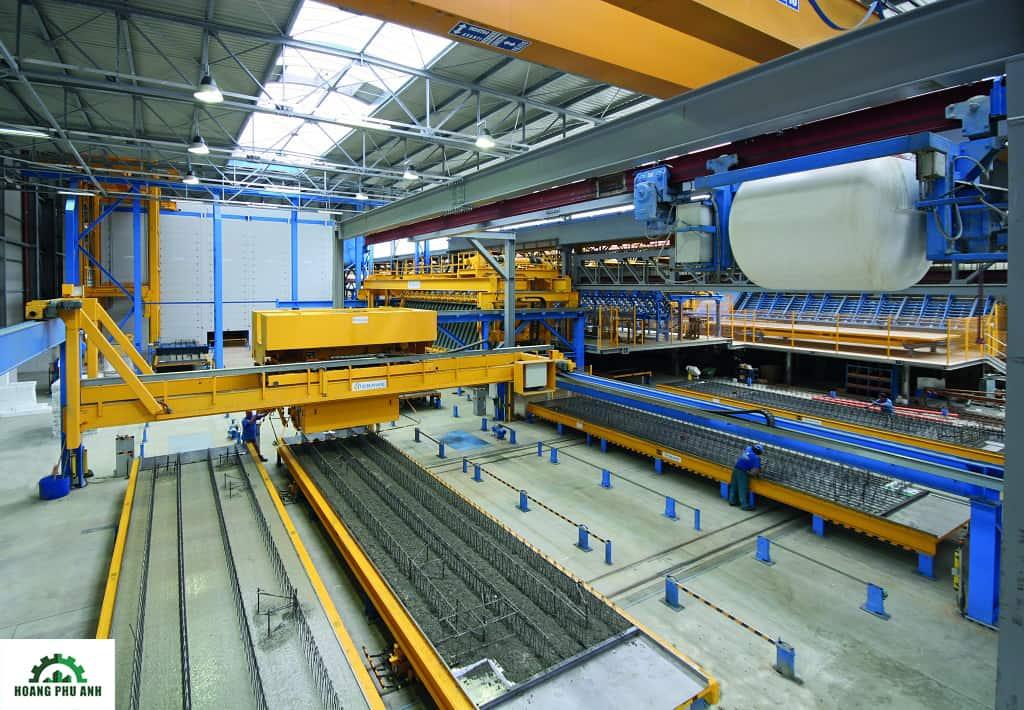Dây chuyền sản xuất phụ kiện thép