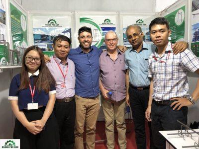nhân sự công ty Hoàng Phú Anh và các đối tác